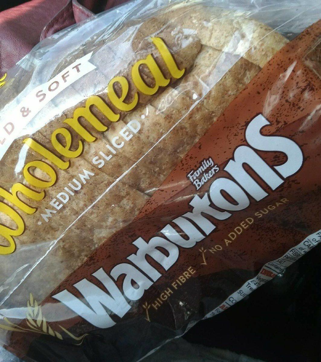 Wholemeal Medium Sliced - Produit - fr