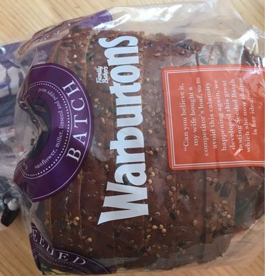 Warburtons Seeded Batch 800G - Product