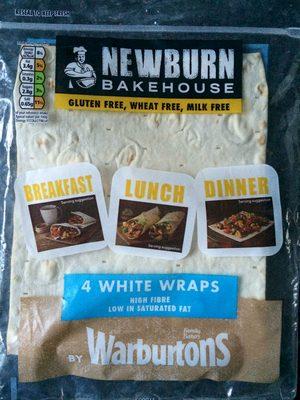 Gluten Free White Wraps - Product - en