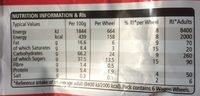 Wagon Wheels - Voedingswaarden - fr