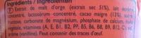 Ovomaltine - 800 g - Ingrediënten - fr
