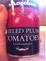 Peeled plum tomatoes - Product