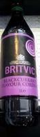 Blackcurrant Flavour Cordial - Produit - en