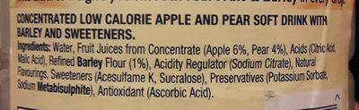 Facial Spray - Ingredients - en