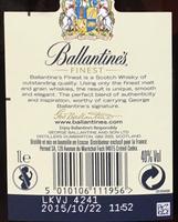 Finest Blended Scotch Whisky - Ingrediënten