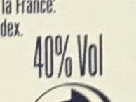 Ballantine's FINEST BLENDED SCOTCH WHISKY - Výživové údaje - fr