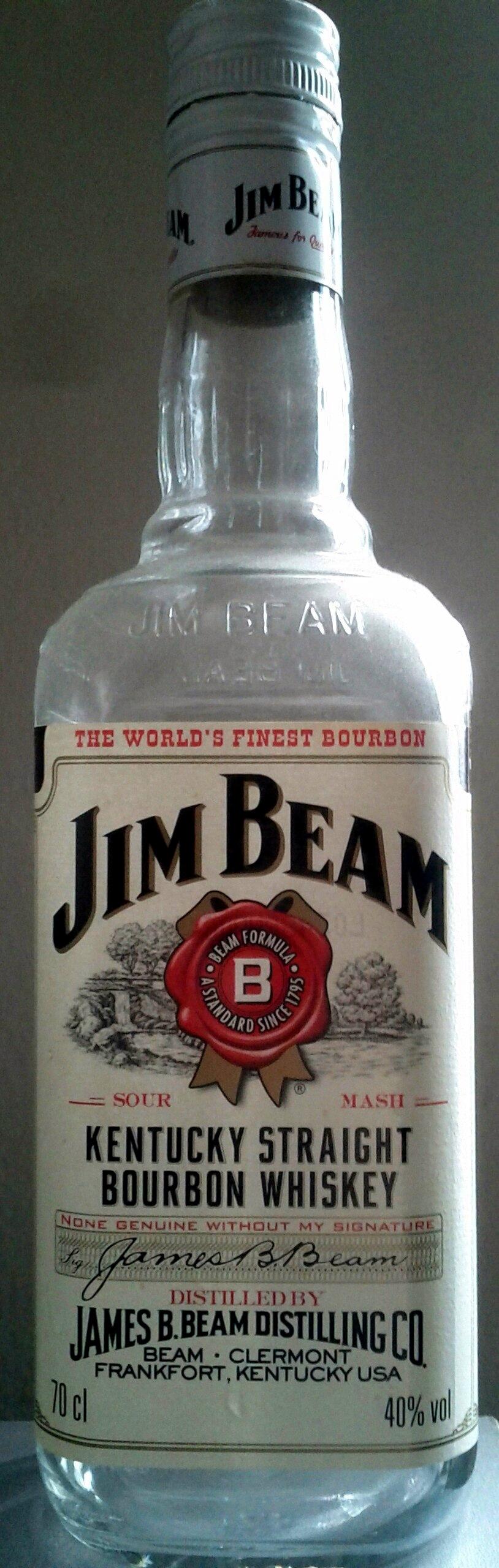 Kentucky Straight Bourbon Whiskey - Product