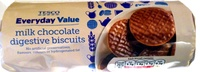 milk chocolate digestive biscuits - Product - en