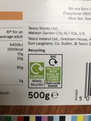 Apricot Wheats - Recycling instructions and/or packaging information - en
