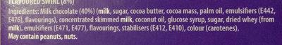 Dairy Milk Ice Cream Bar - Ingredients