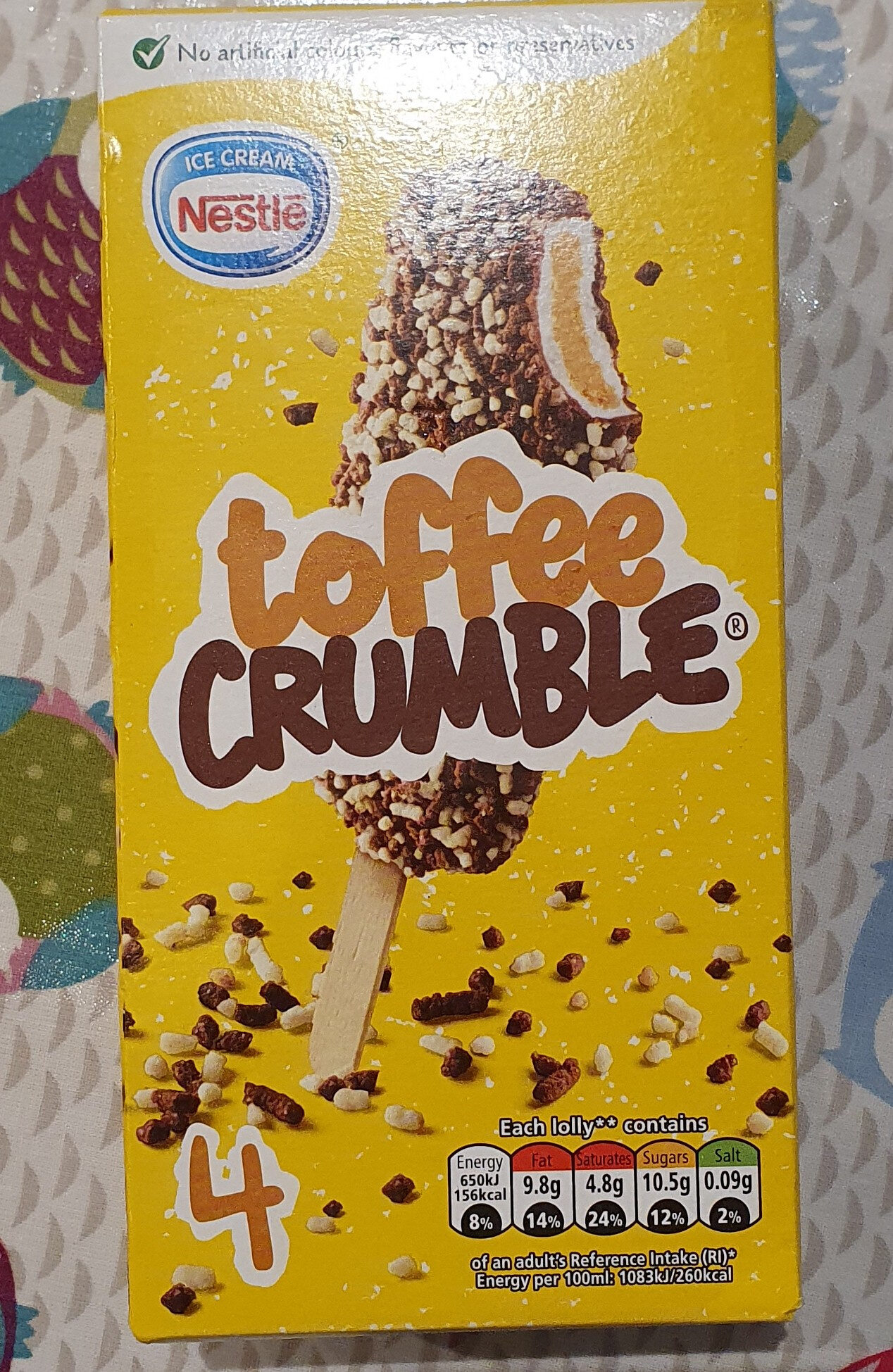 toffee crumble - Product - en