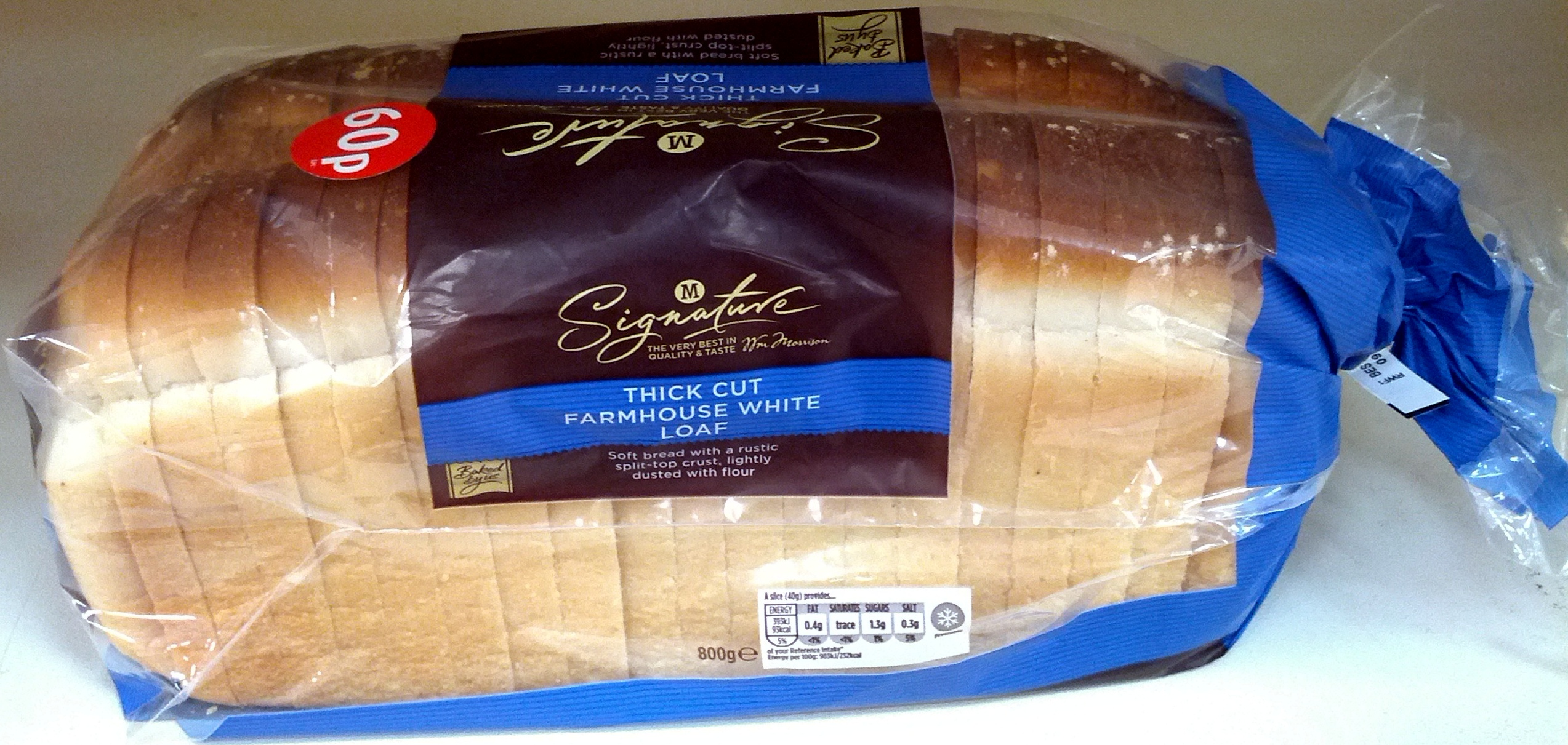 Thick Cut Farmhouse White Loaf - Product - en