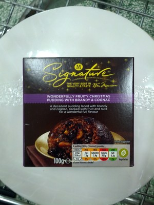 Wonderfully Fruity Christmas Pudding with Brandy and Cognac - 2