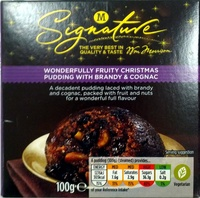 Wonderfully Fruity Christmas Pudding with Brandy and Cognac - Product - en