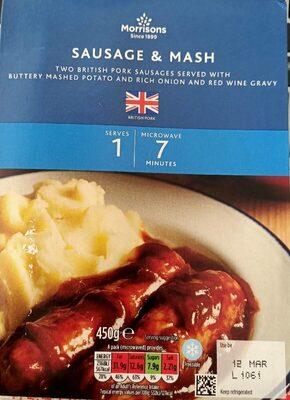Sausage & Mash - Prodotto - en