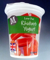 Low fat Rhubarb Yogurt - Product - en