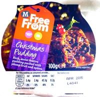 Gluten Free Milk Free Christmas Pudding - Product - en