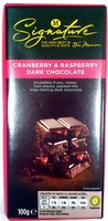 Cranberry & Raspberry Dark Chocolate - Product - en