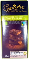 Fairtrade 70% Cocoa Dark Chocolate - Product - en
