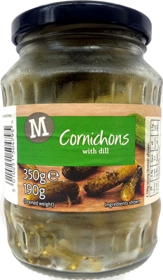 Cornichons with dill - Product - en