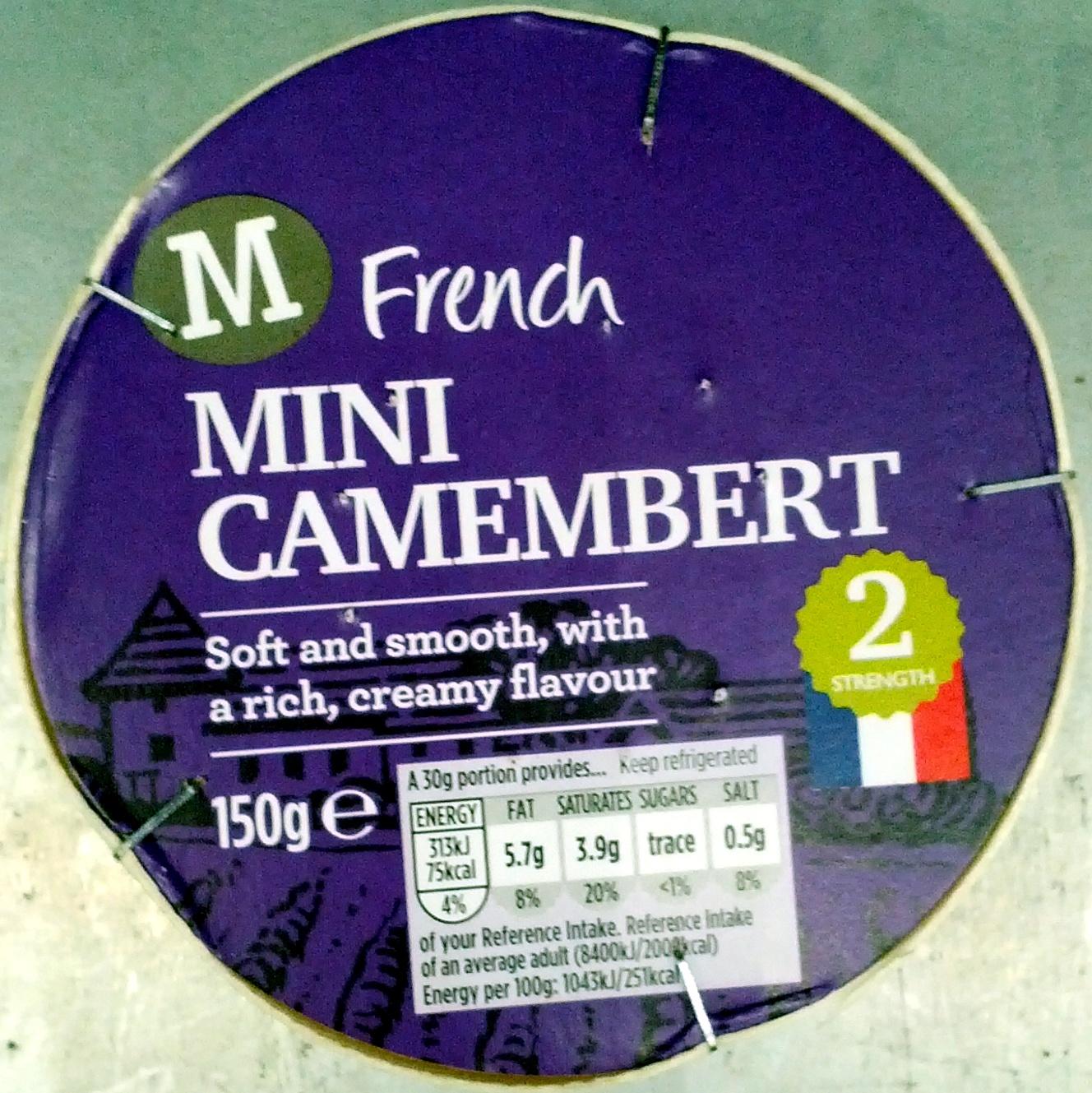 French Mini Camenbert - Produkt