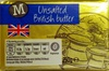 Unsalted British Butter - Product