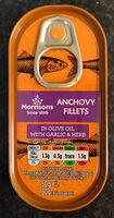Anchovy fillets - Produit - en