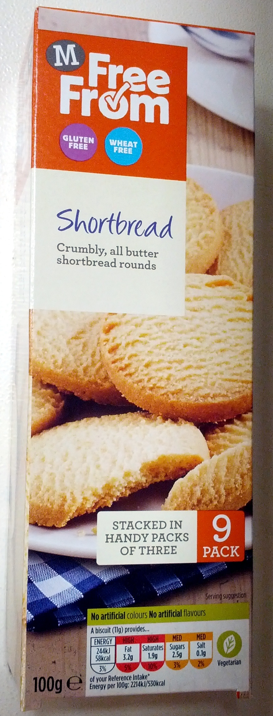 Shortbread - Product - en