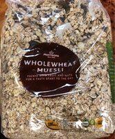 Wholewheat muesli - Product