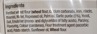garlic bread slice - Ingredients - en
