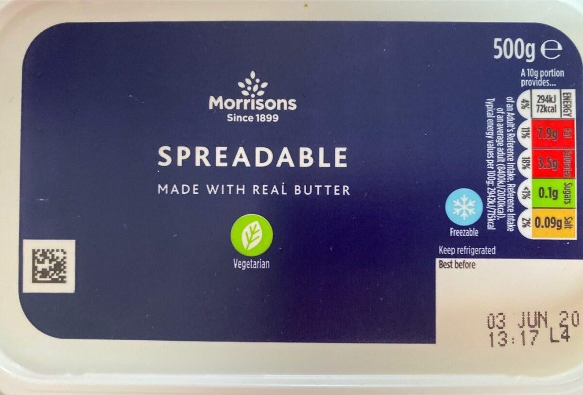 Spreadable fat - Product - en