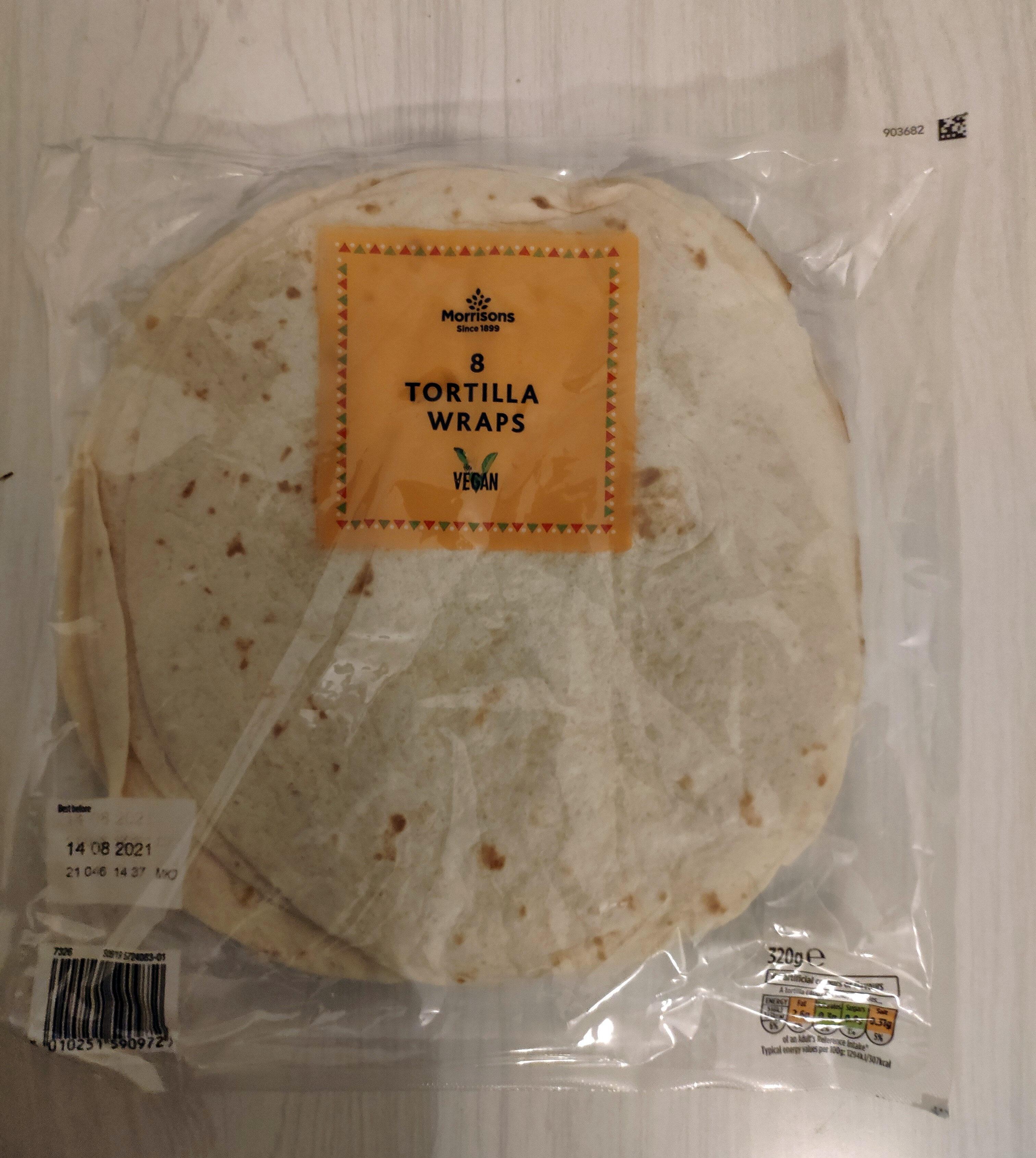 Tortilla Wraps - Prodotto - en