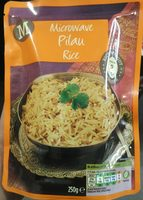 Microwave pilau rice - Product - en