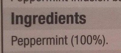 Pure Peppermint - Ingredients - en