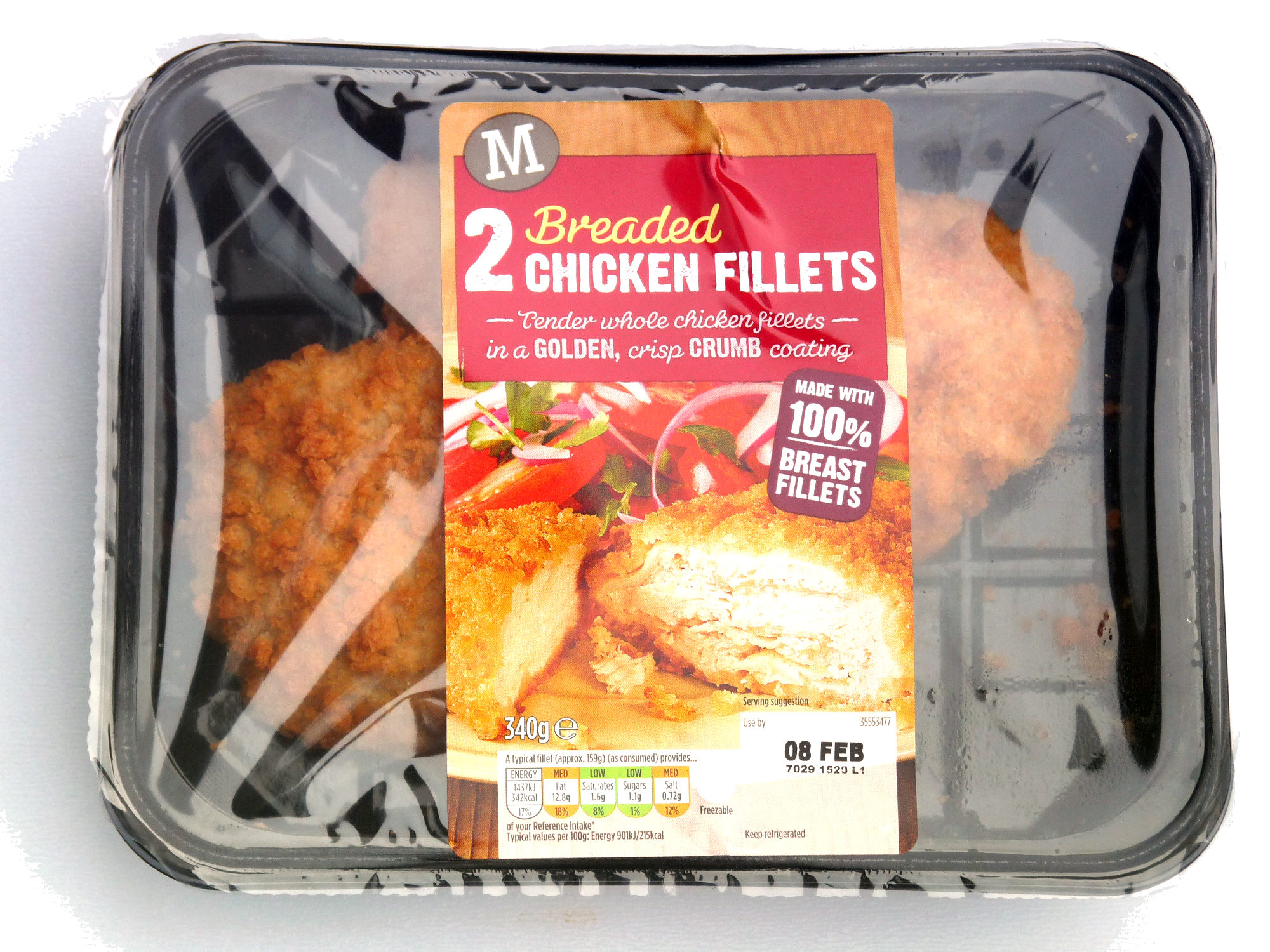 Morrisons Breaded Chicken Fillets - Product