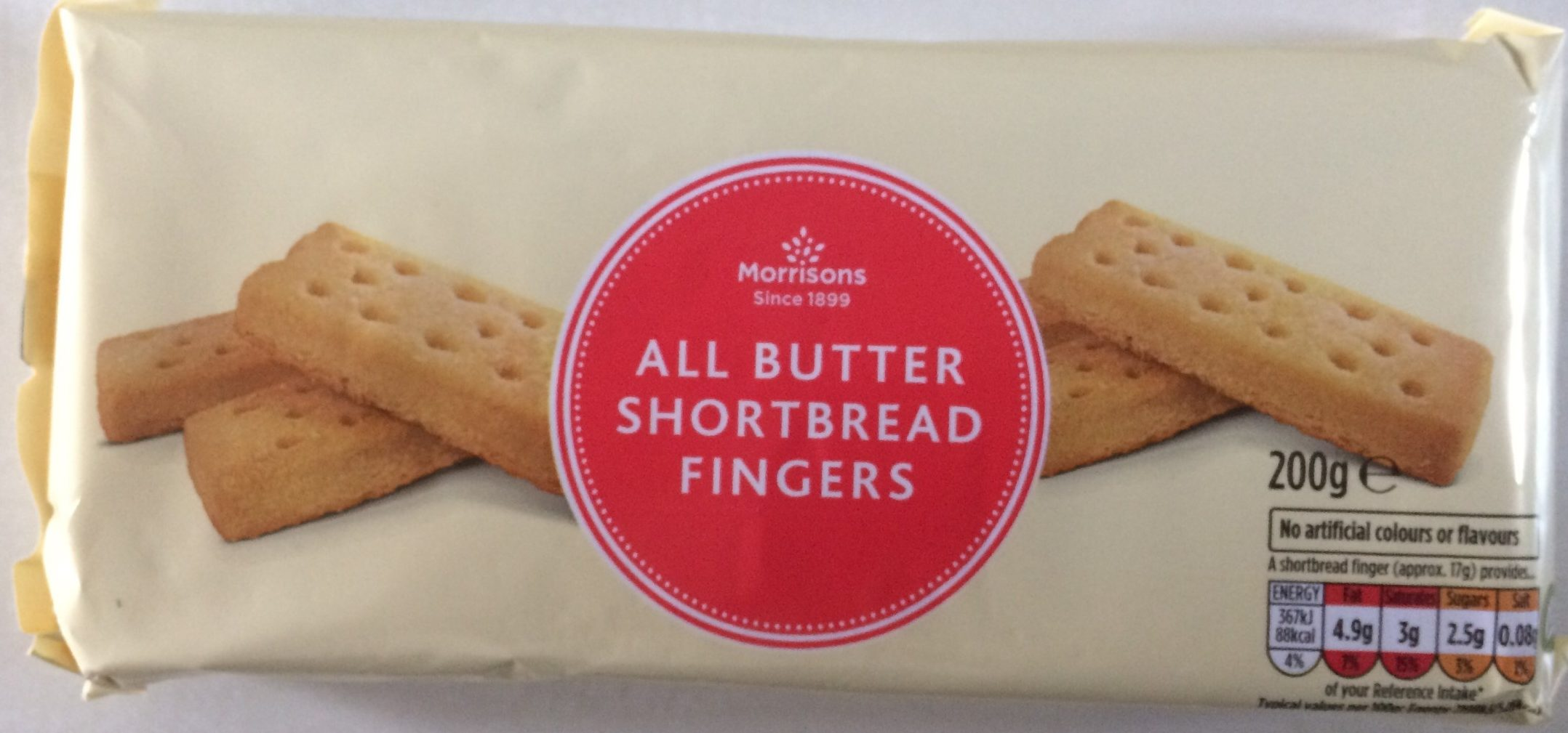 All Butter Shortbread Fingers - Product