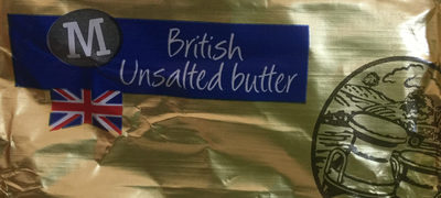 British unsalted butter - Product - en