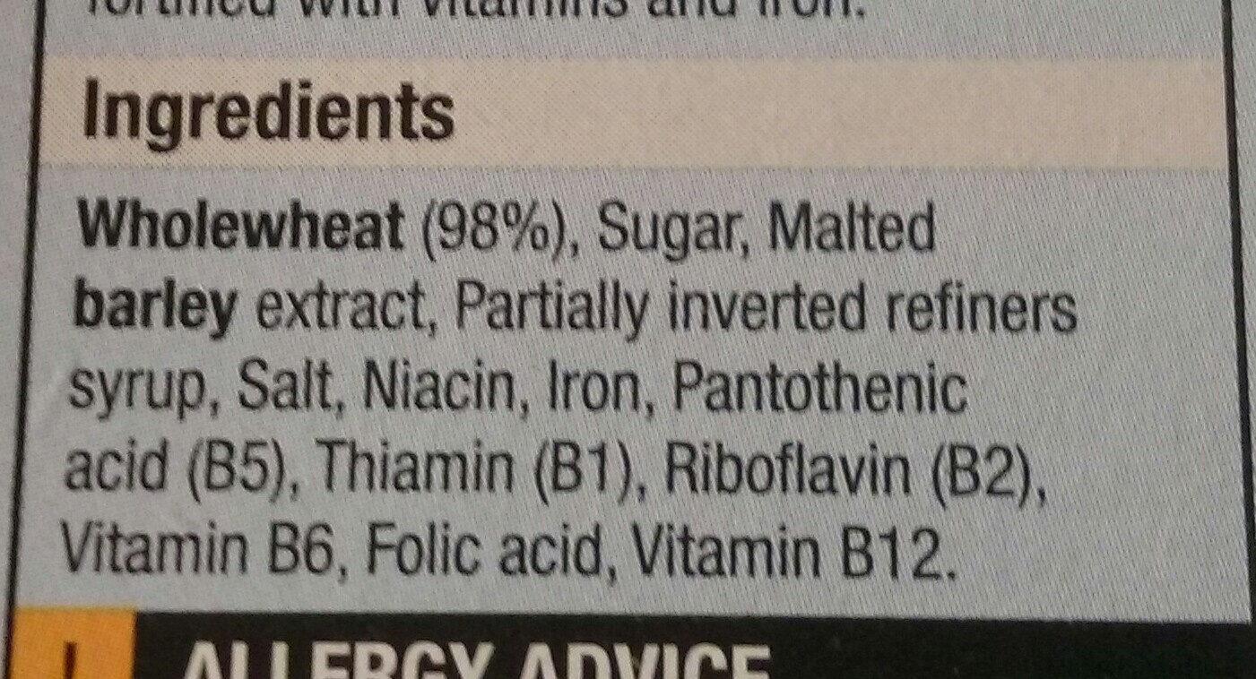 Migty Malties - Ingredients