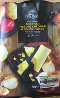 Scottish mature cheddar and onion crisps - Product