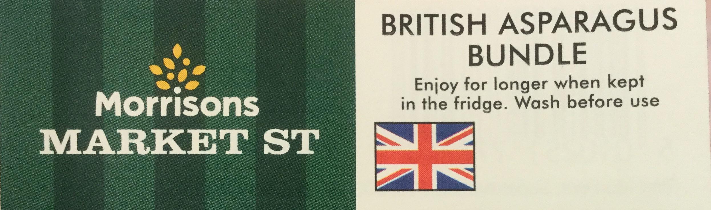 British Asparagus bundle - Product