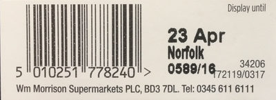 British Asparagus bundle - Ingredients