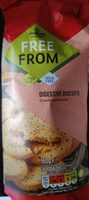 Morrisons Free From Digestive Biscuits - Product - en