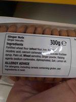 gingwr nuts - Ingredients