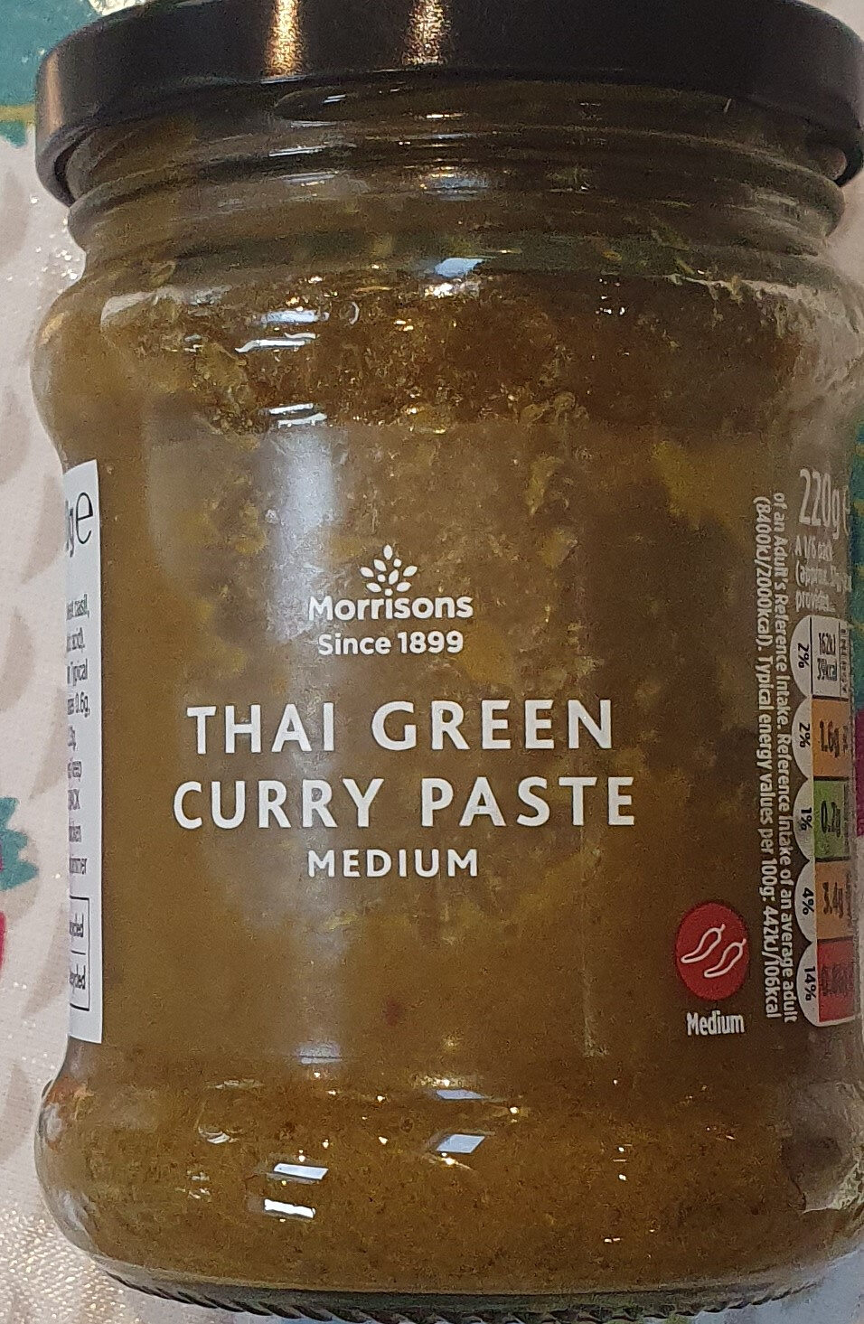 Thai green curry paste - Product - en