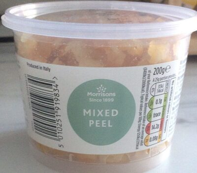 Mixed peel - Prodotto - en