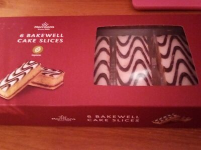 Bakewell cake slices - Product - en