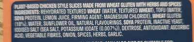 Sandwich Slices - Ingredients - en