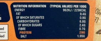 Sandwich Slices - Nutrition facts - en