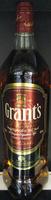 Whisky Ecosse blended sans âge 100 cl Grant's - Product