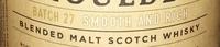 Whisky Batch 27 - Ingredients - en